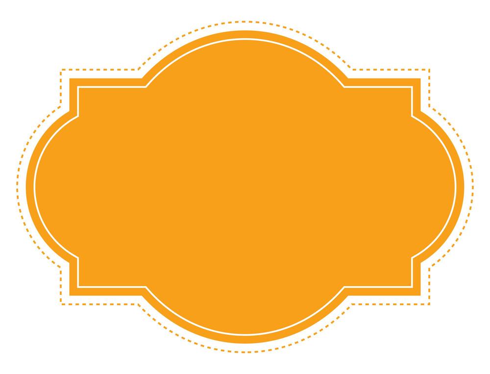 Label Frame Banner