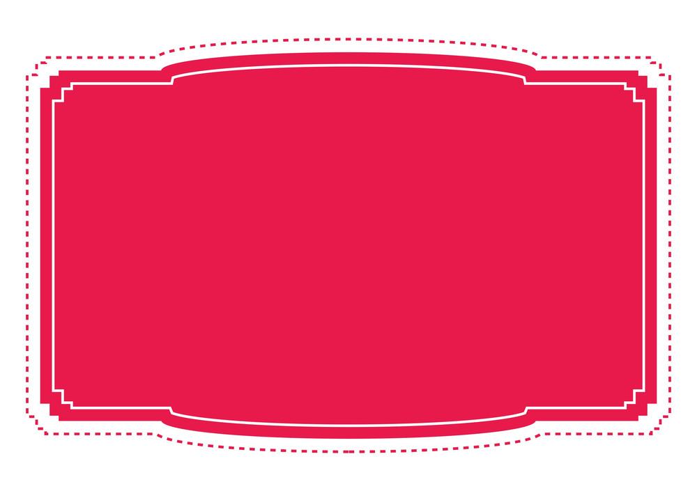 Label Frame Vector