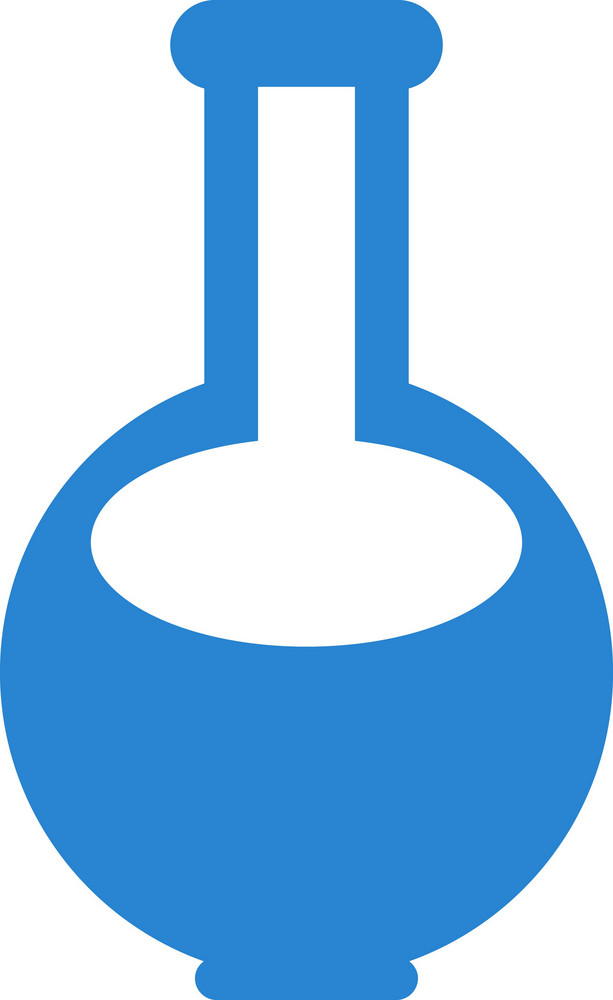 Laboratory Flask Simplicity Icon