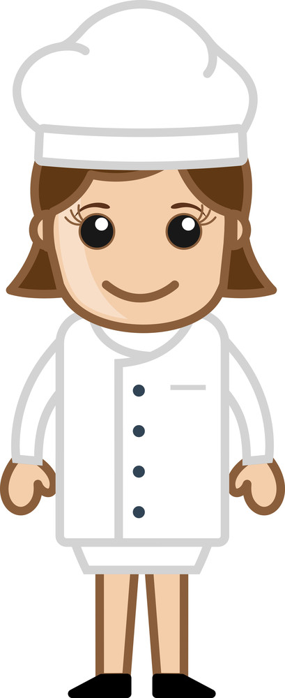 Lady Chef Vector
