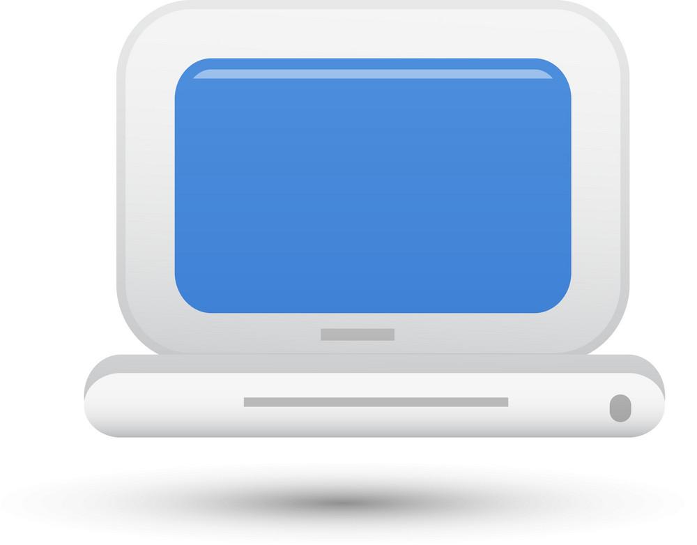 Laptop Lite Computer Icon