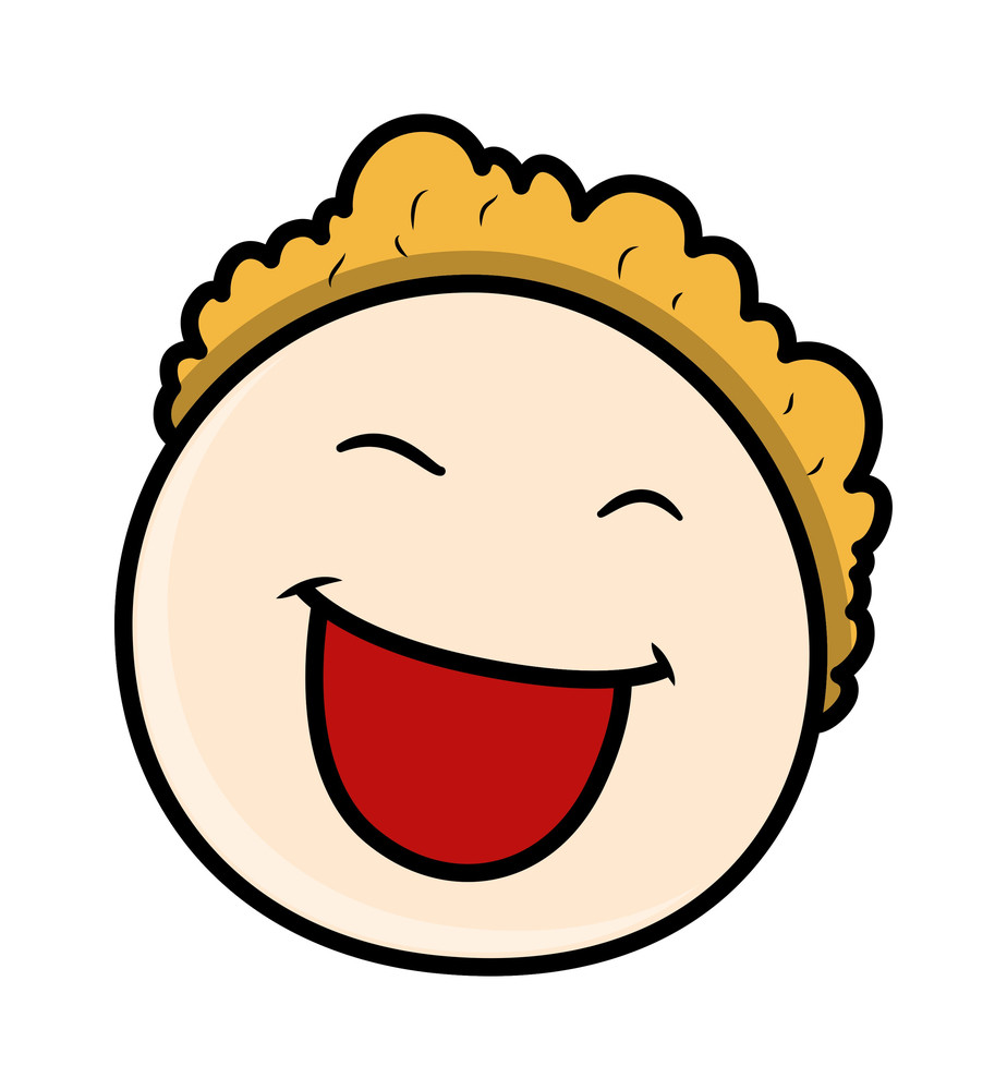 Laughing Kid Boy Face