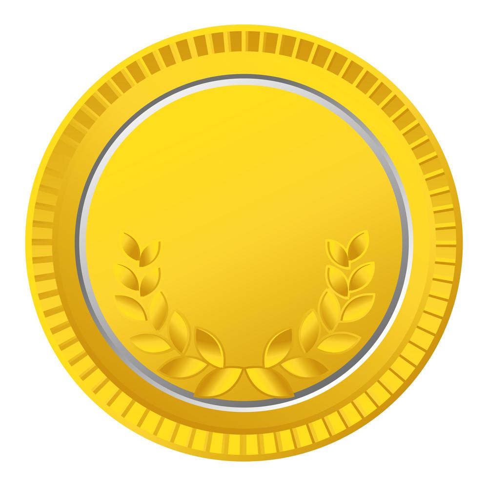 Laurel Wreath Gold Coin