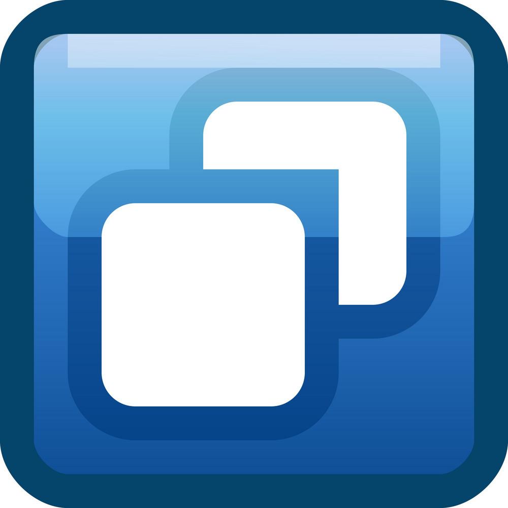 Layers Blue Tiny App Icon