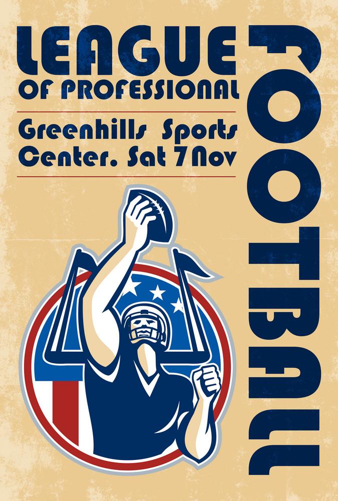 League Of Pro Football Poster Art