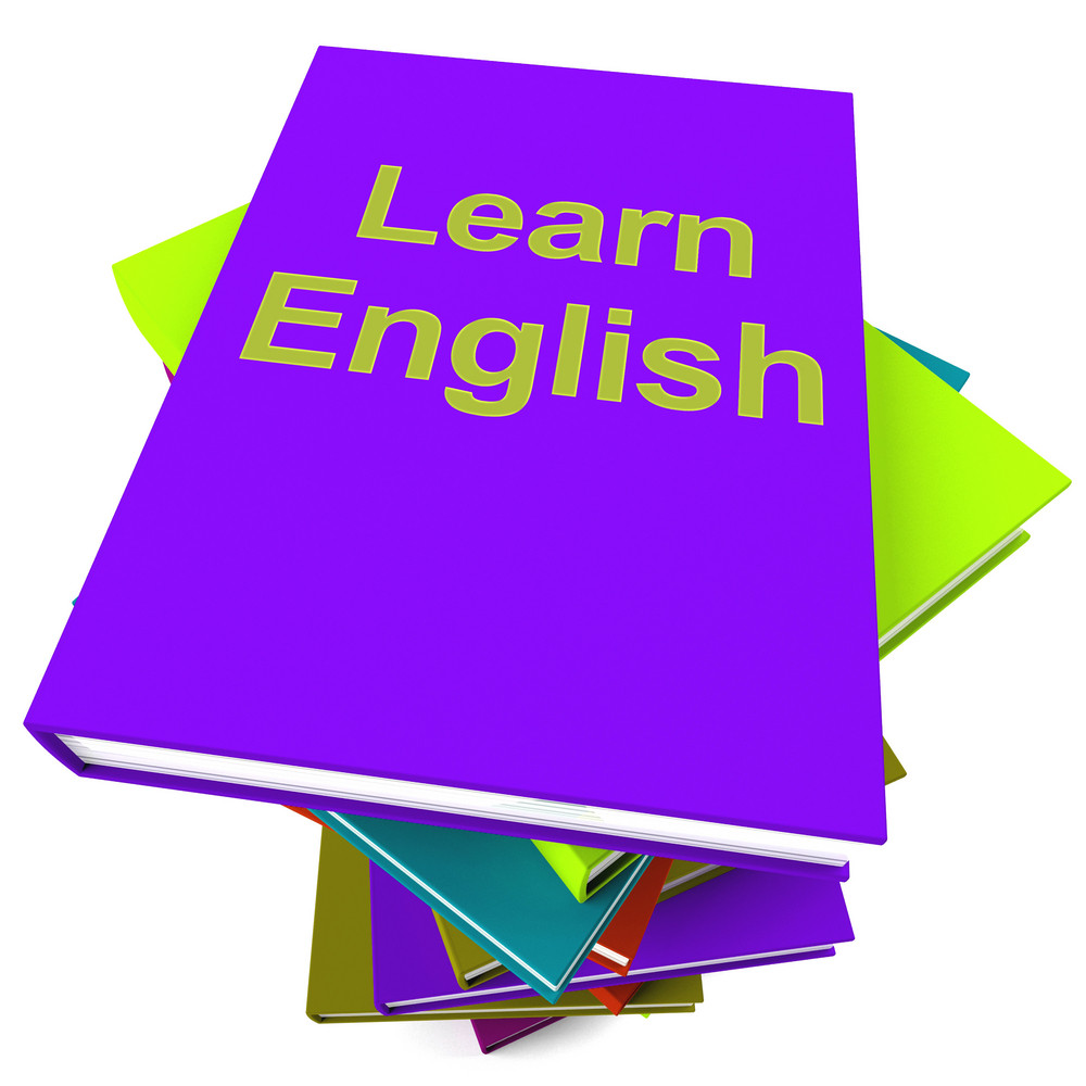 Learn English Book For Studying A Language