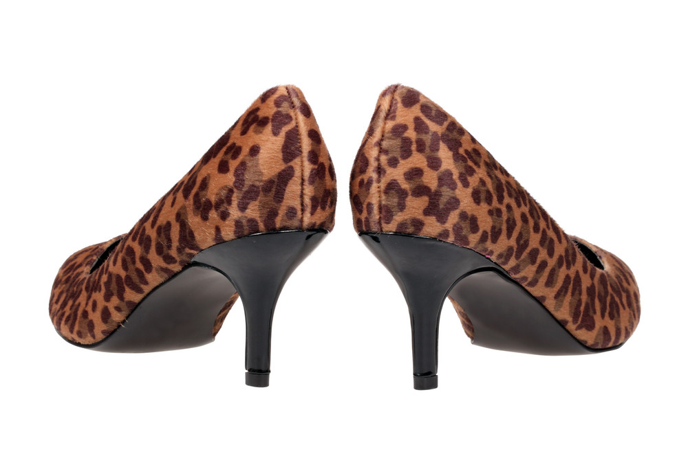 Leopard Women's Heel Shoes