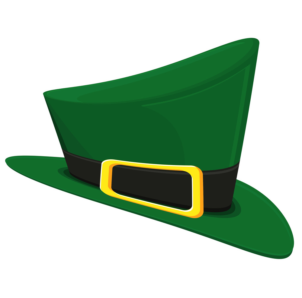 Leprechaun Hat Vector Design