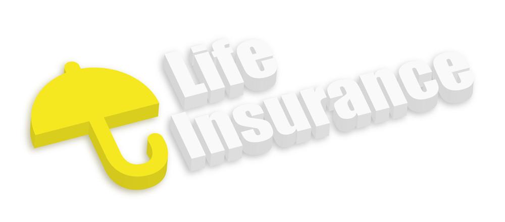 Life Insurance With Umbrella Icon