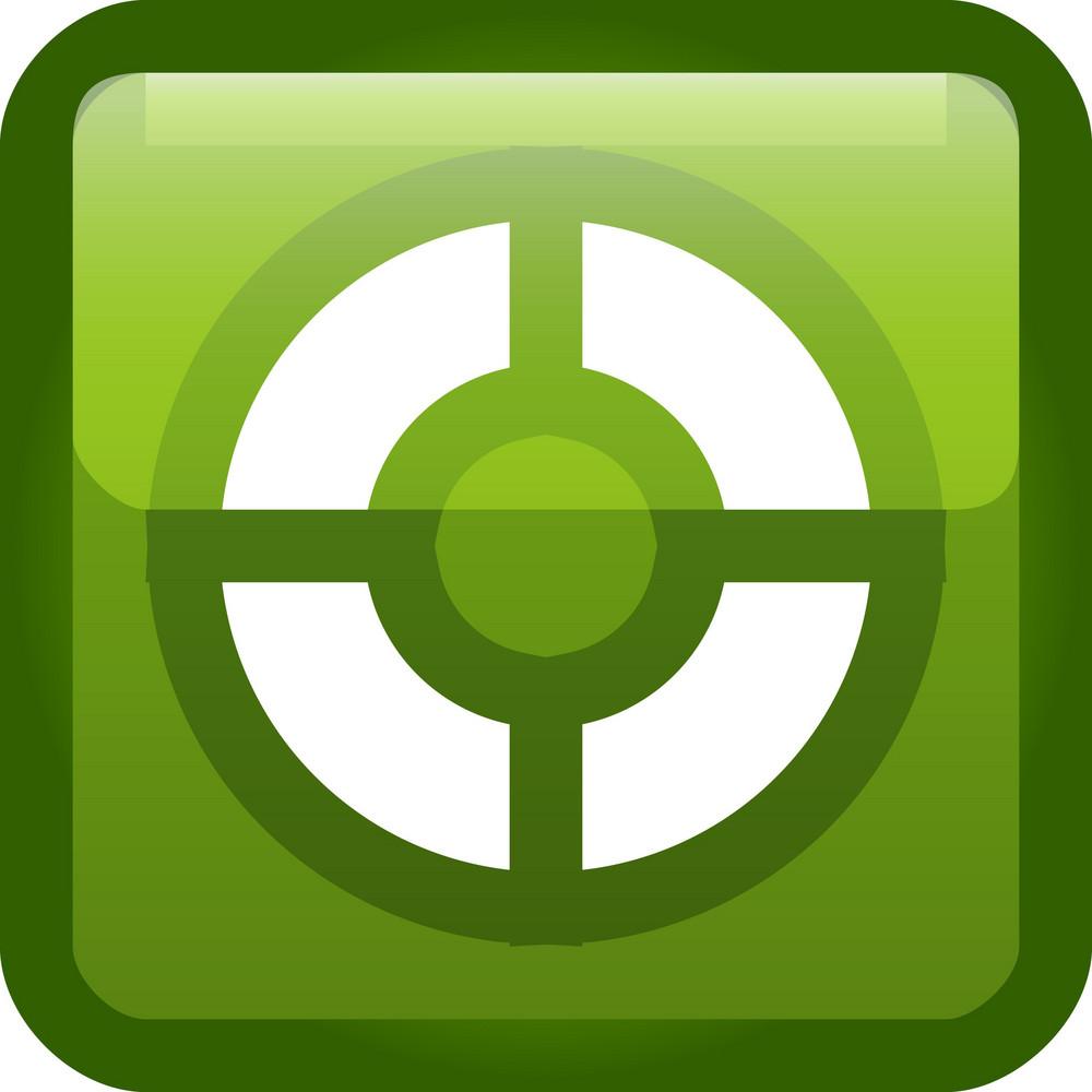 Life Preserver Help Green Tiny App Icon