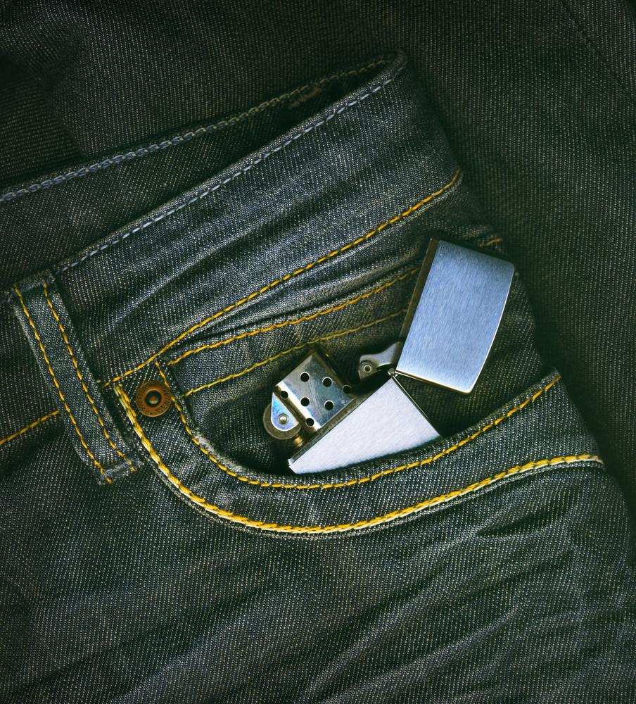 Lighter In A Pocket