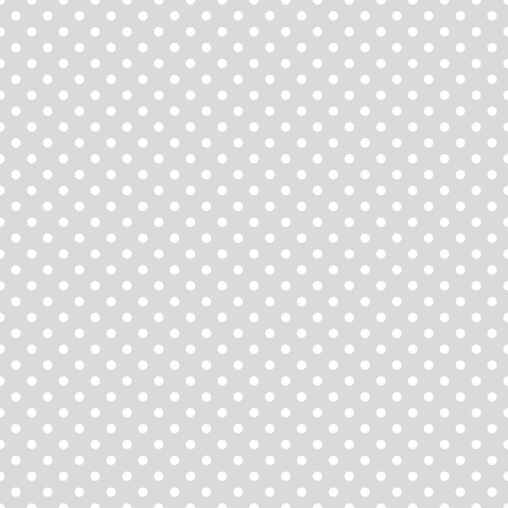 subscription library pattern of white polka dots on a light grey background