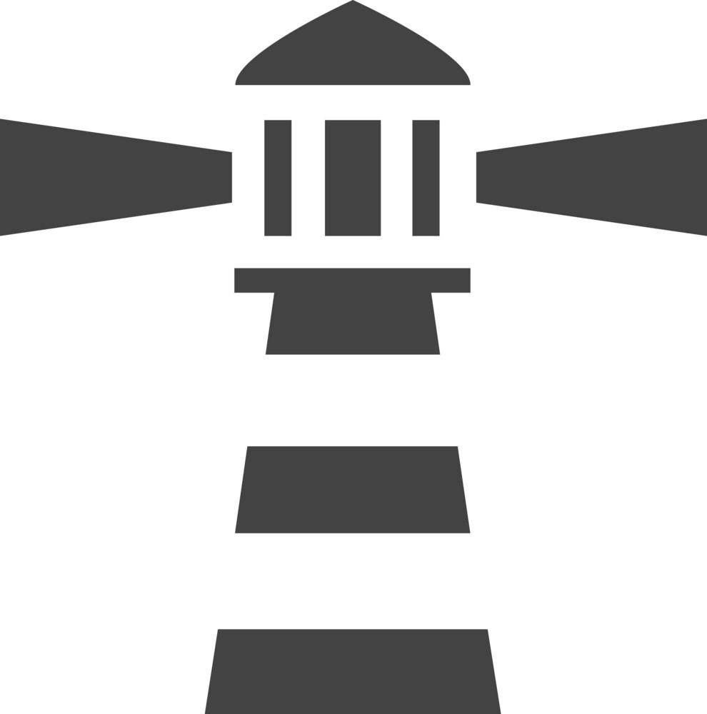 Lighthouse Glyph Icon