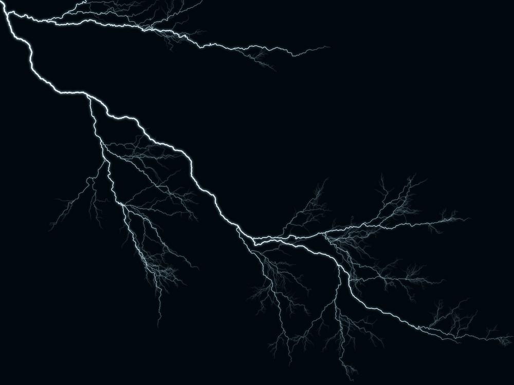 Lightning Backdrop