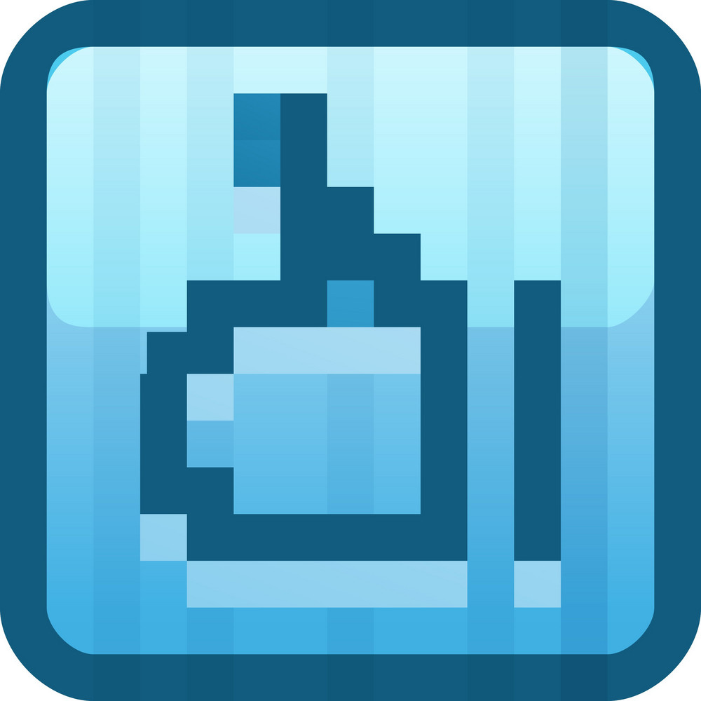 Like Blue Tiny App Icon