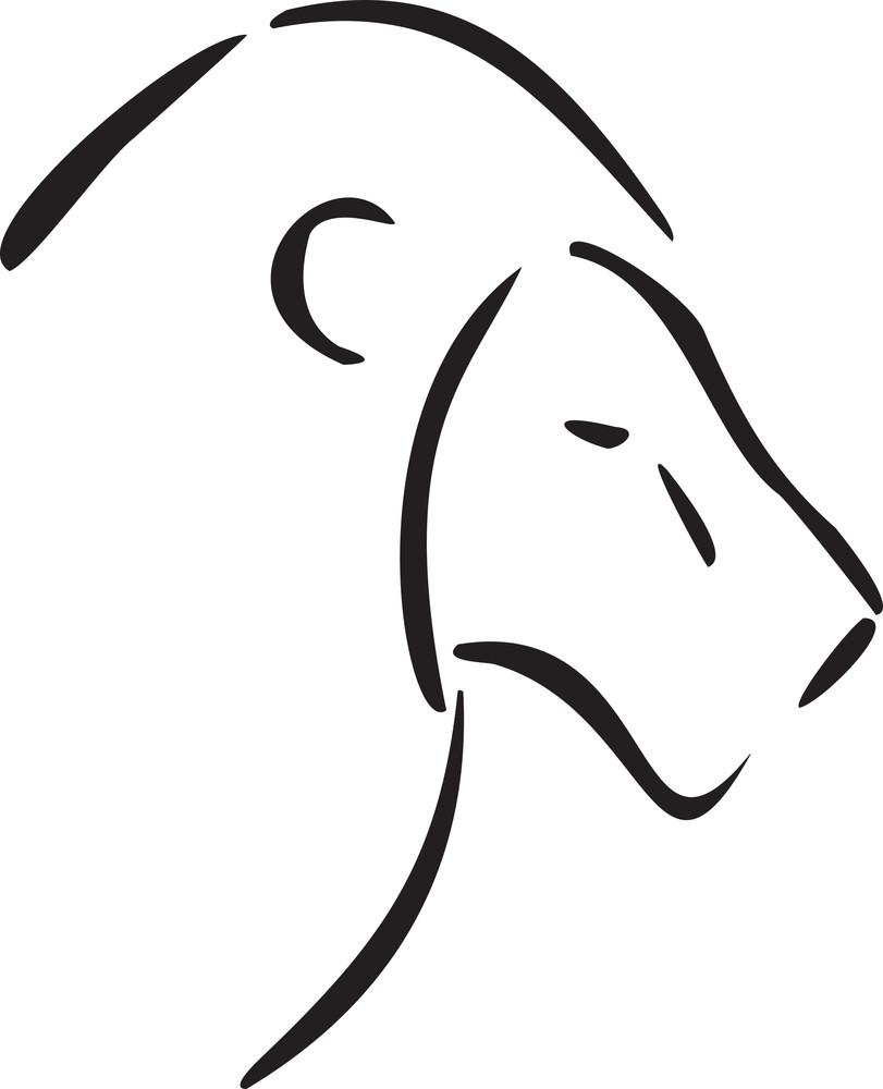 Lion For Leo Astrology Sign.