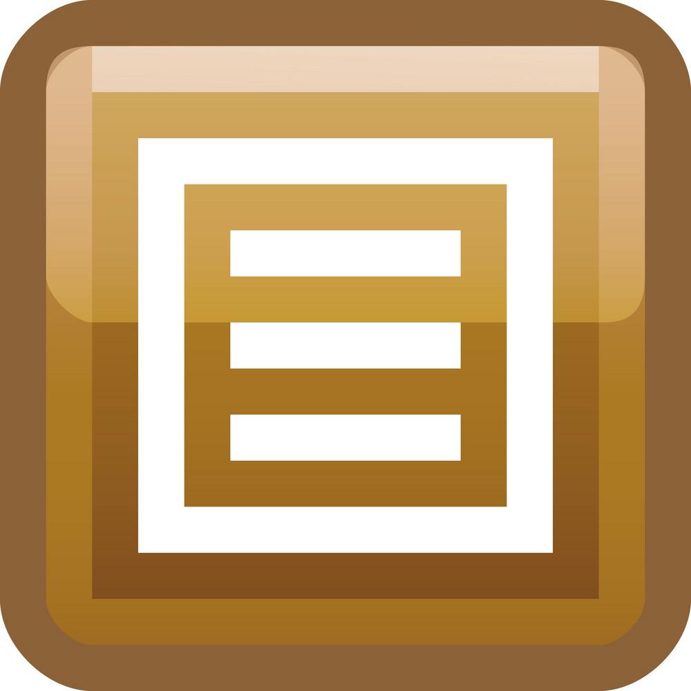List Brown Tiny App Icon