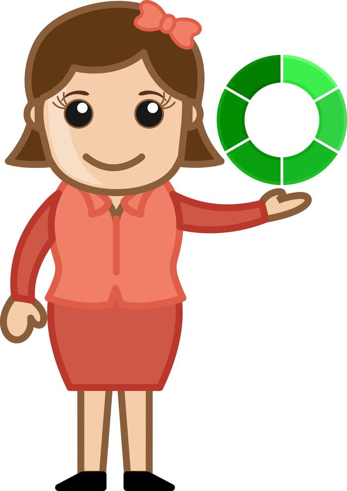 Loading Icon - Vector Character Cartoon Illustration