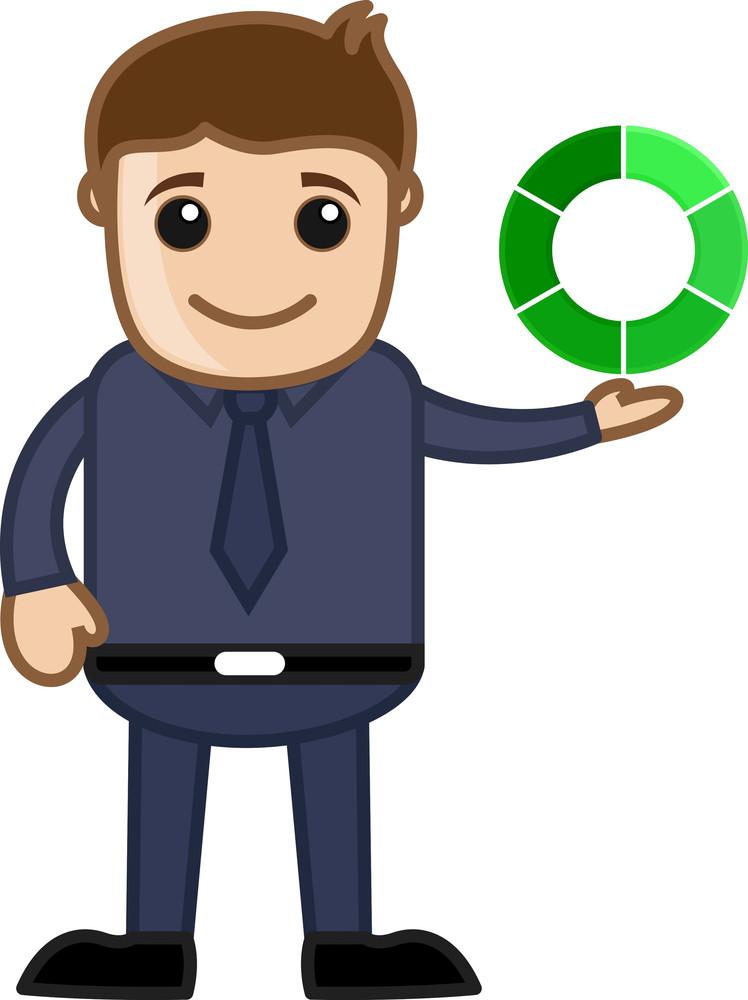 Loading Process Concept - Vector Character Cartoon Illustration