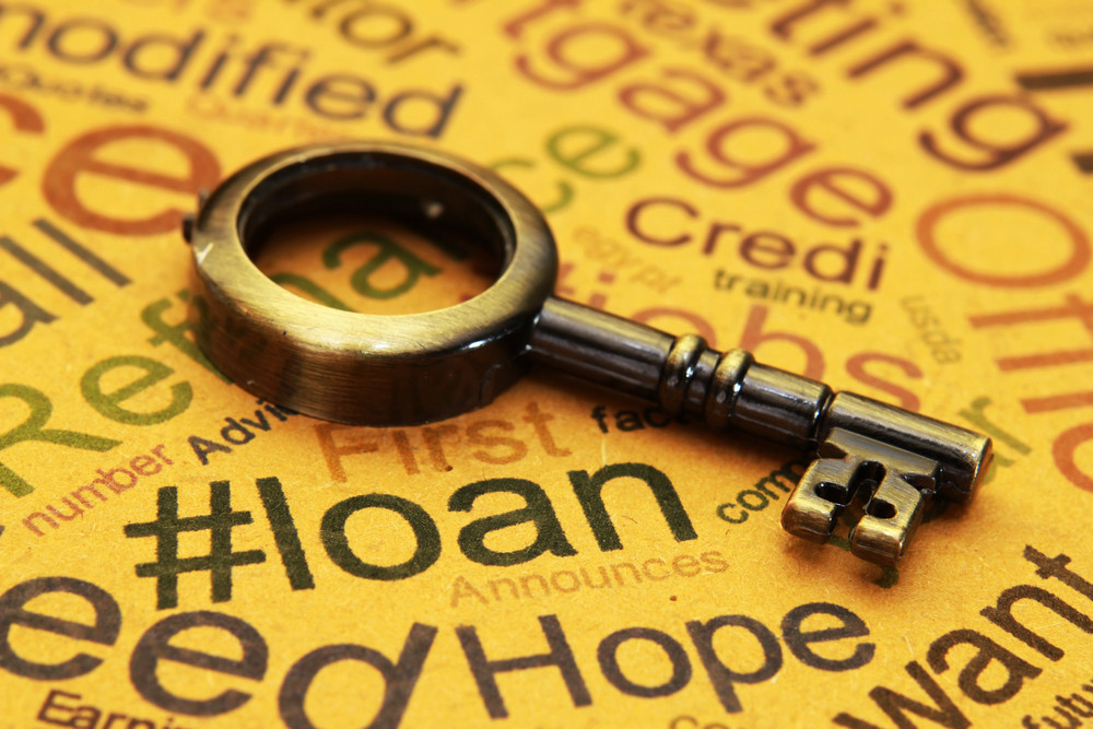 Loan And Mortgage Concept