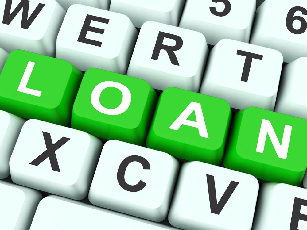 Loan Keys Show Lending Or Funding