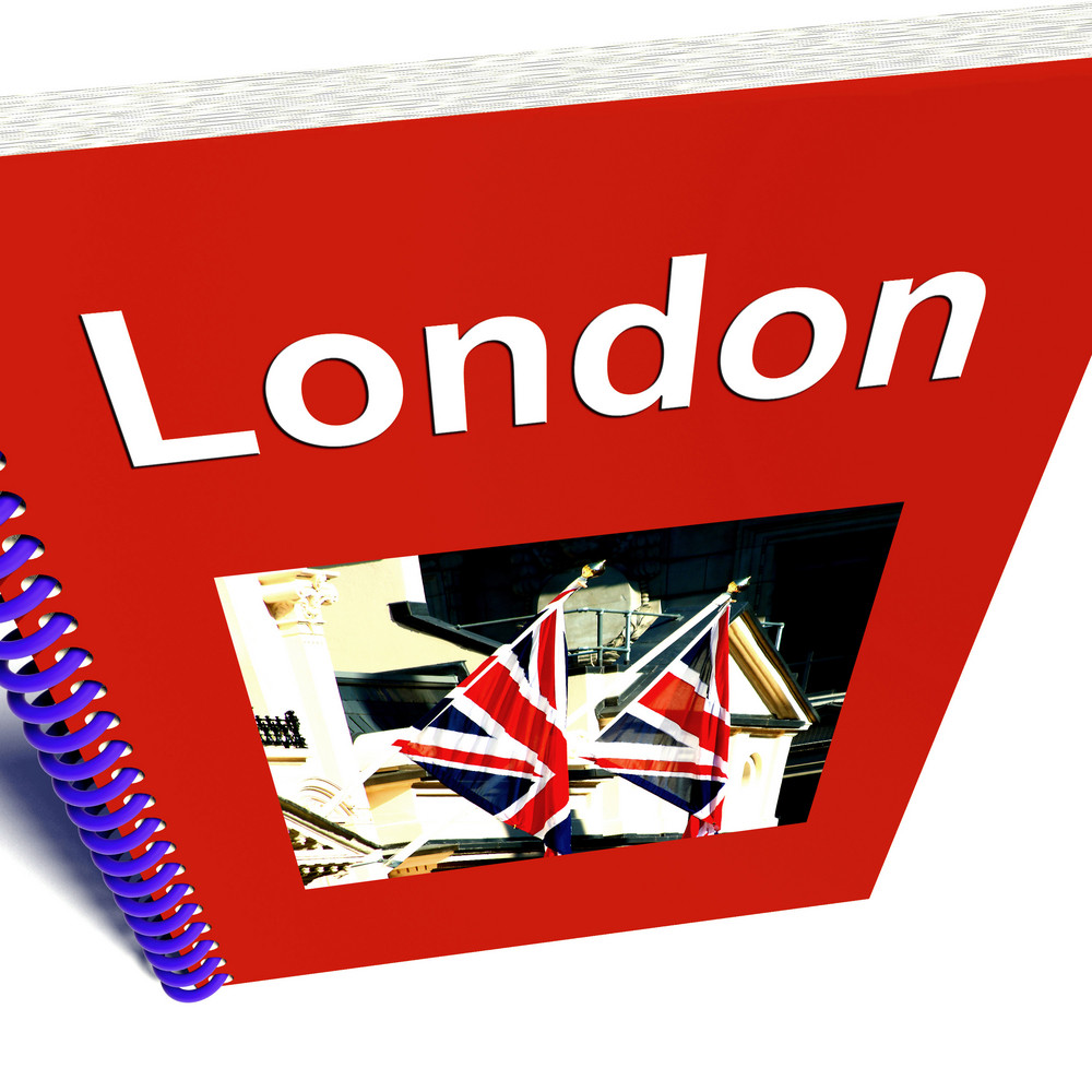 London Book For Tourists In England