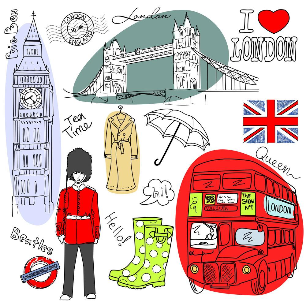 London Doodles-
