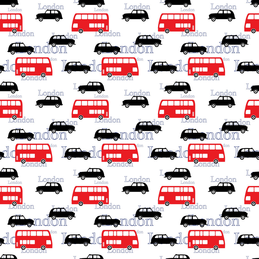 London Traffic Pattern On England Paper