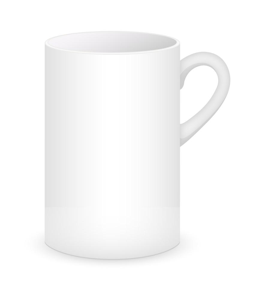 Long Cup Vector