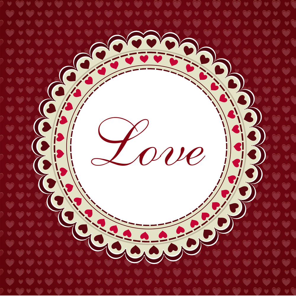 Love Background.