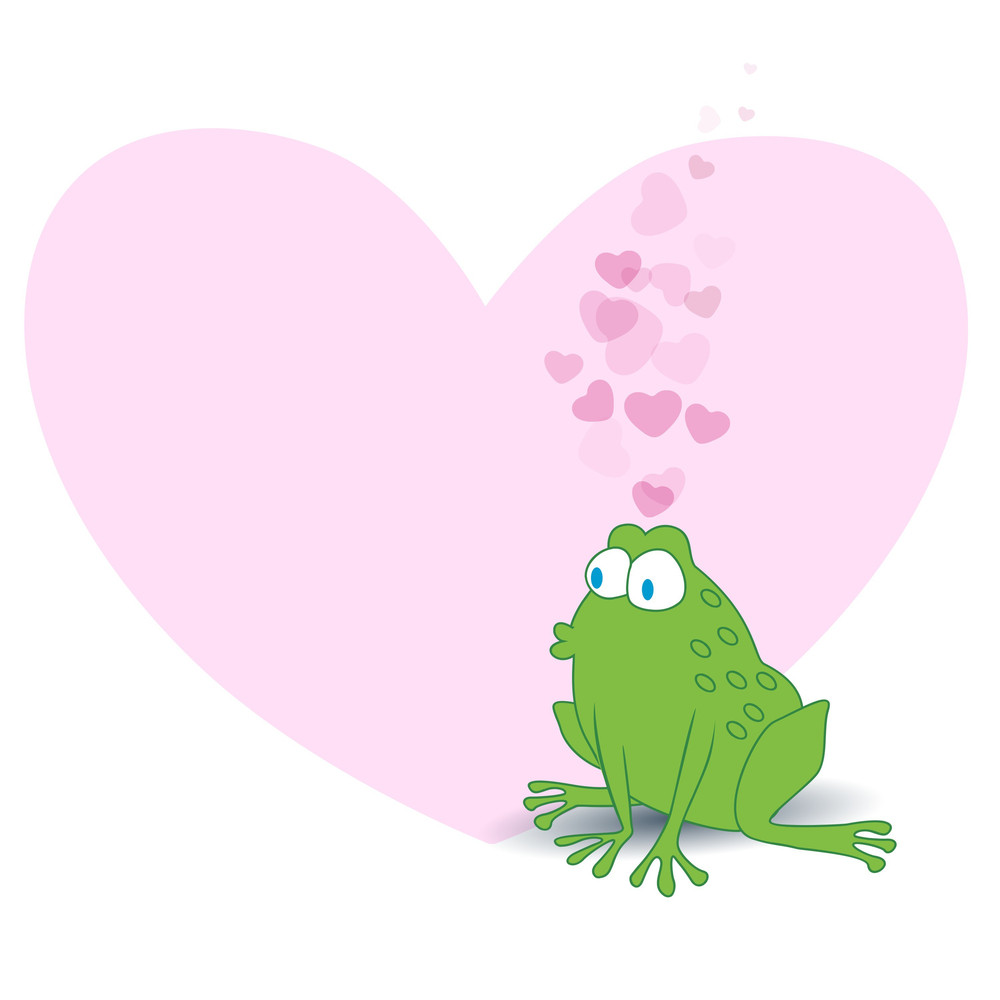 Love Concept With Frog