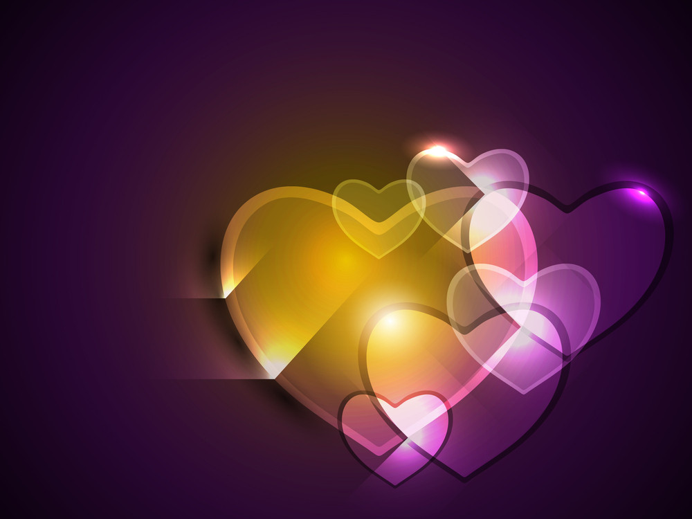 Love Concept With Heart.