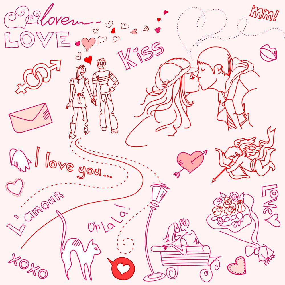 Love Doodles-