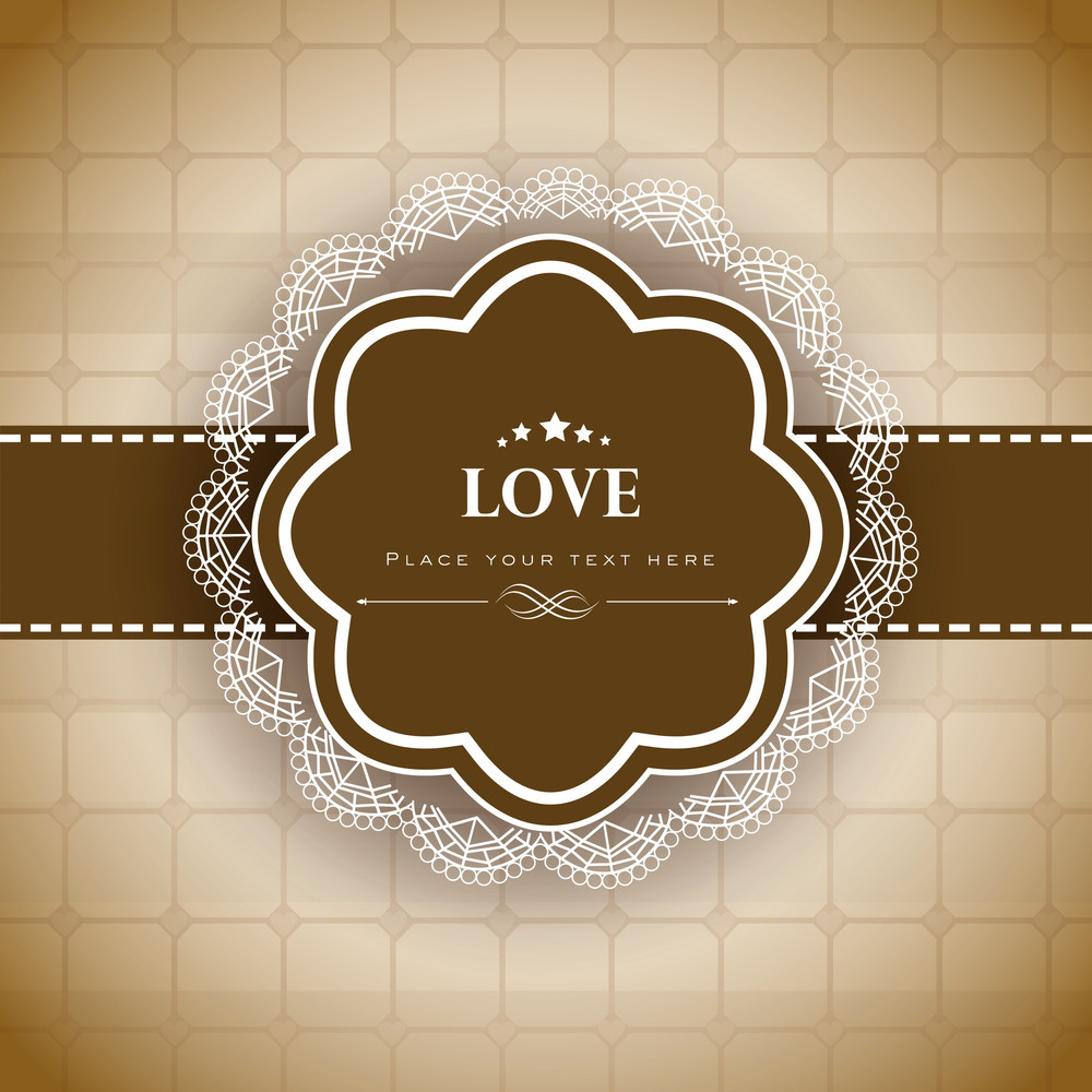 Love Text Background