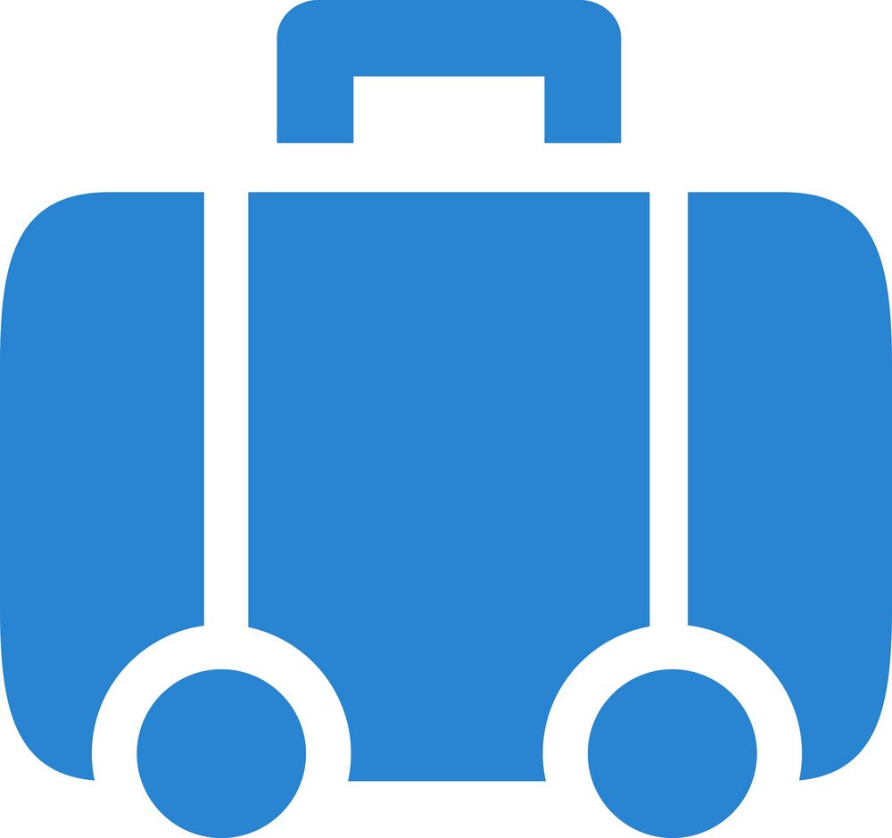 Luggage Simplicity Icon