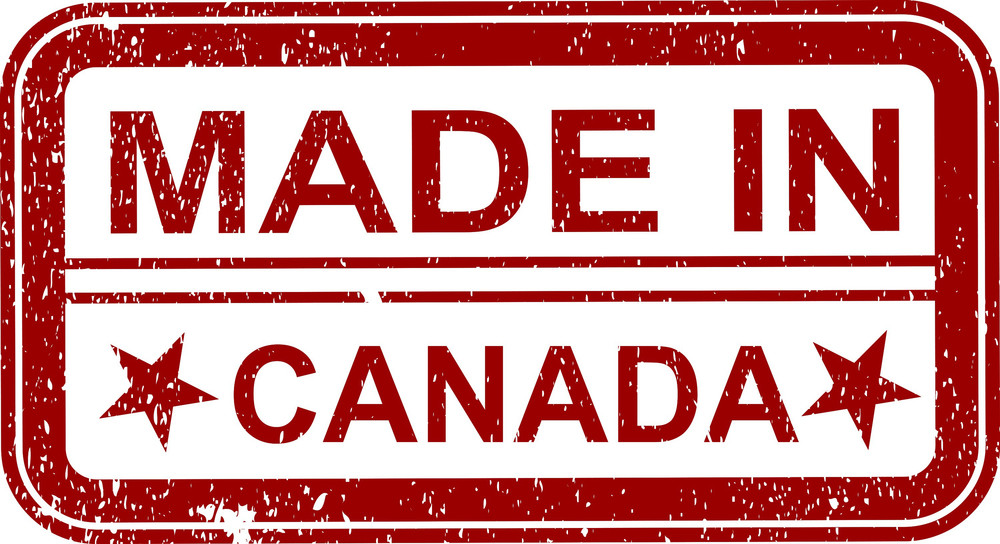 Made In Canada Stamp