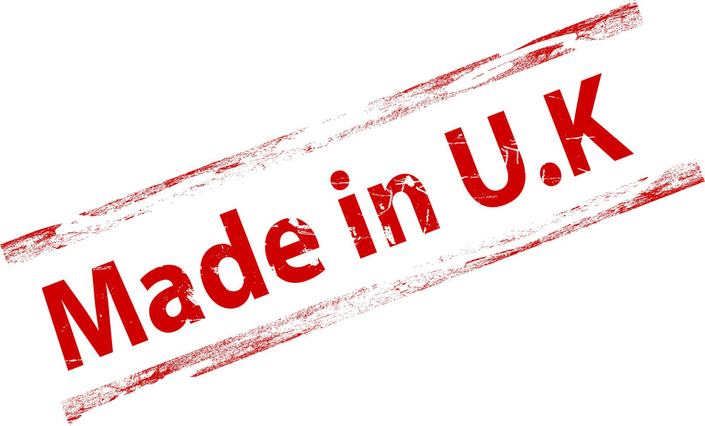 Made In U.k Stamp