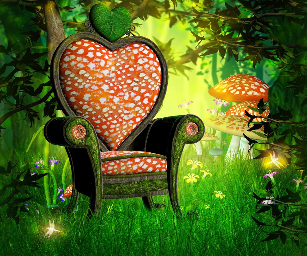 Magic Garden Background