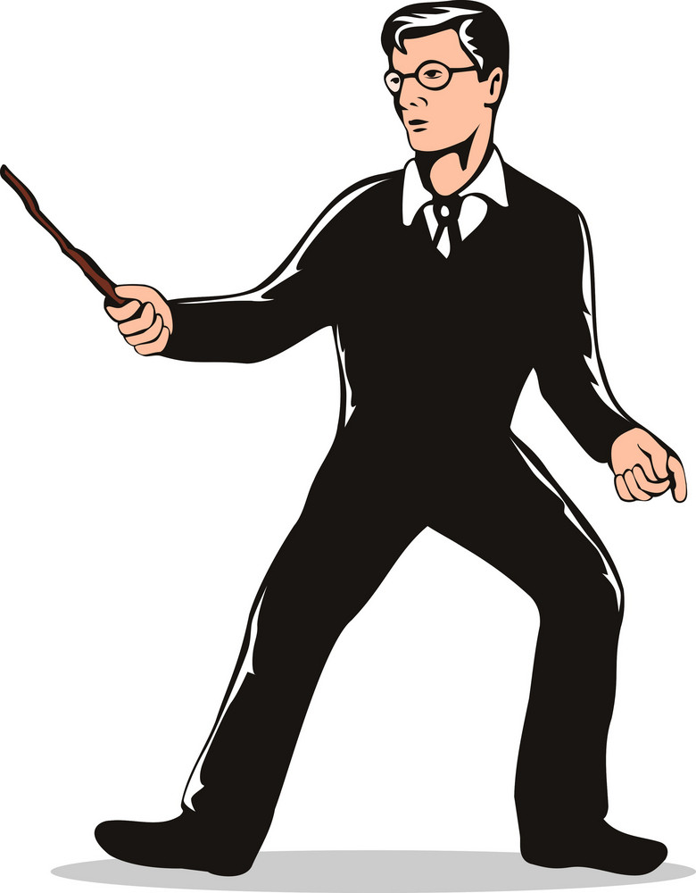Magician Wizard Boy