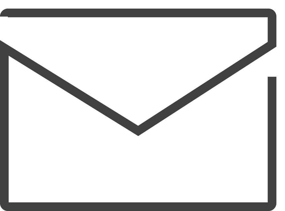 Mail 1 Minimal Icon