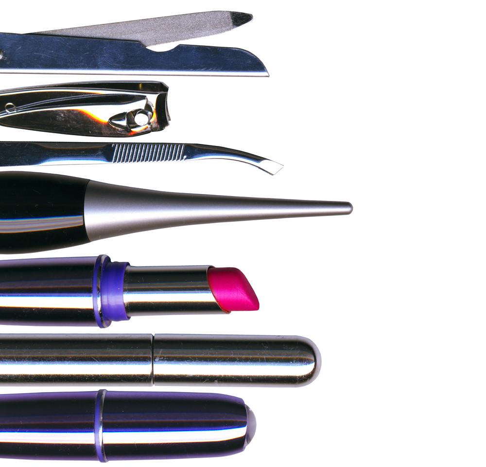 Maquiagem Escova E Cosmética