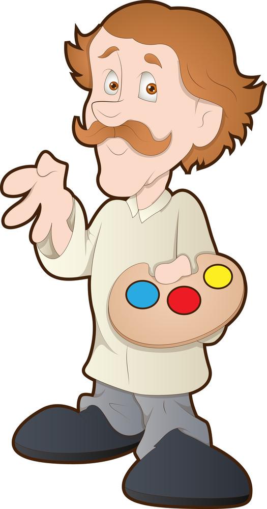 Man - Cartoon Character