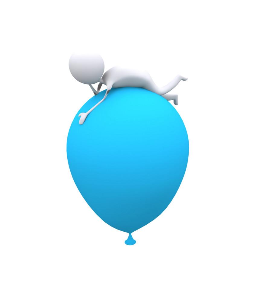 Man On Balloon