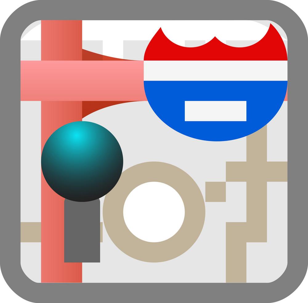 Maps Tiny App Icon
