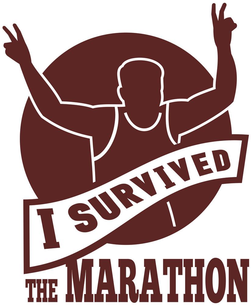 Marathon Runner I Survived