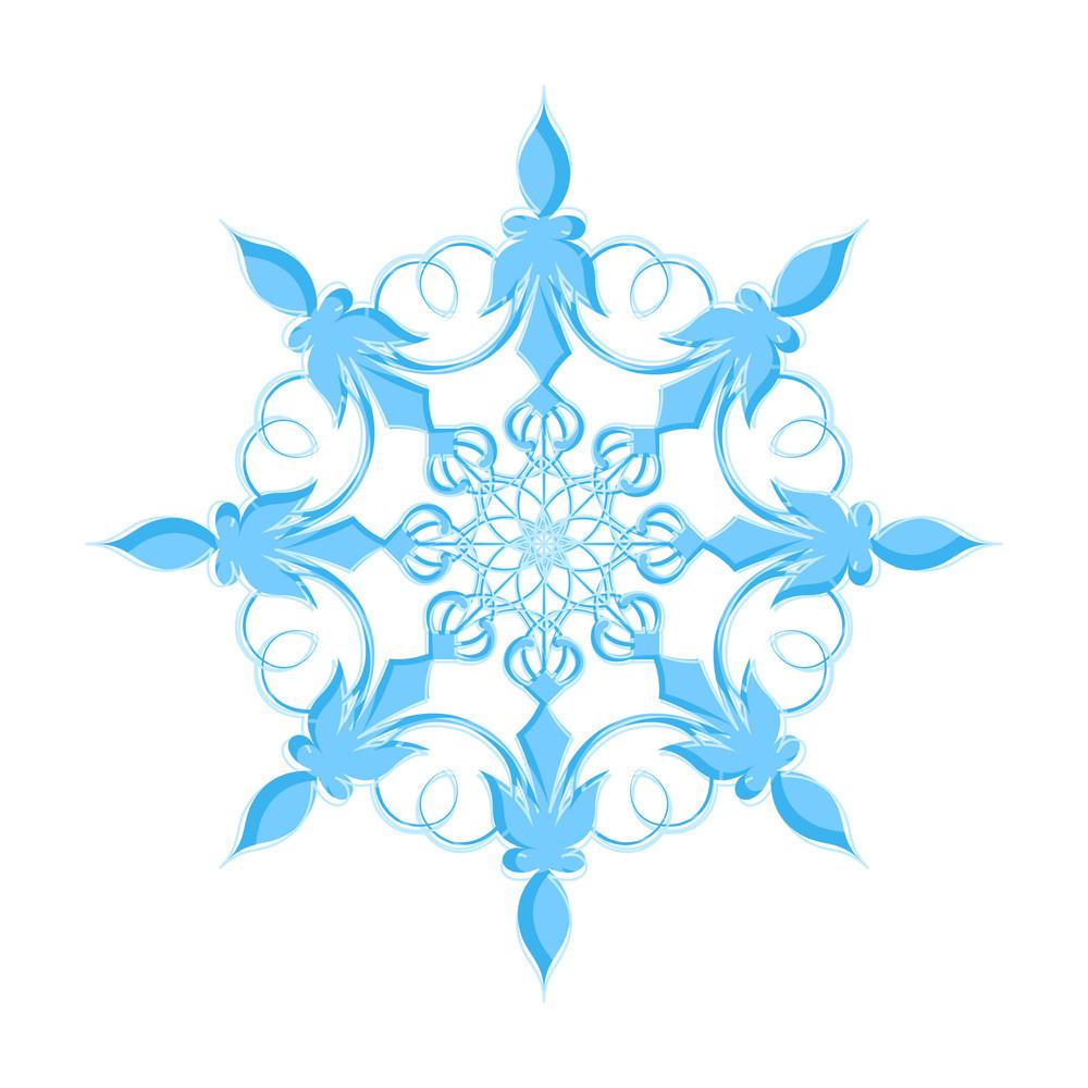 Marriage Floral Snowflake