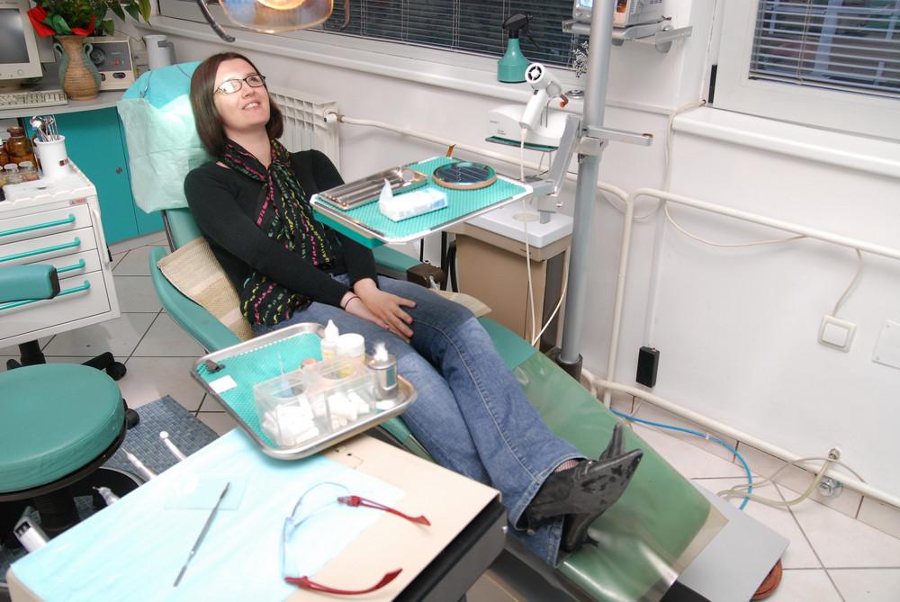 At dentist