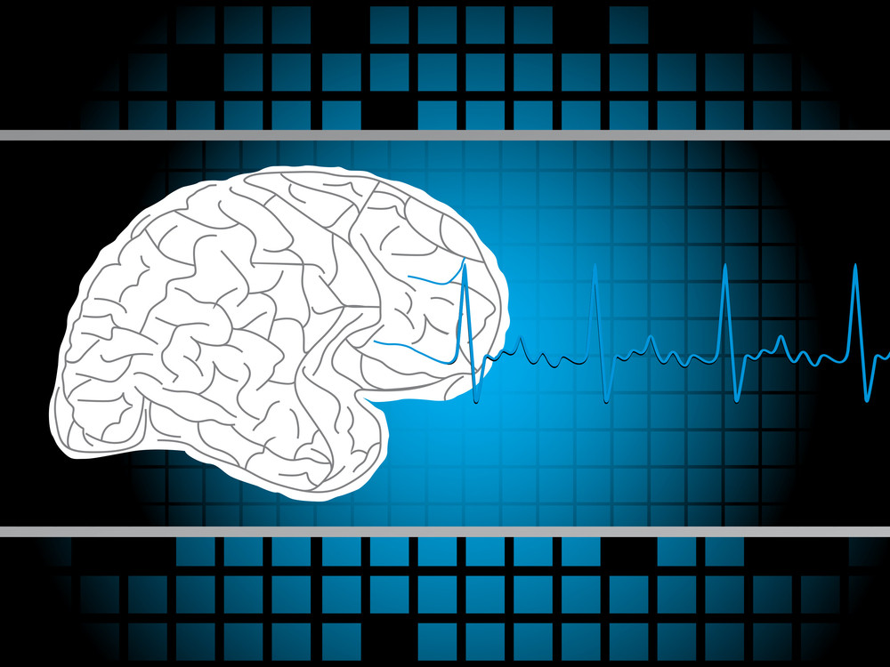 Medical Background With Brain