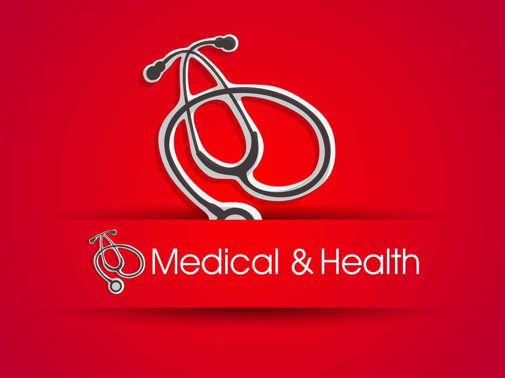 Medical Background With Stethoscope 10