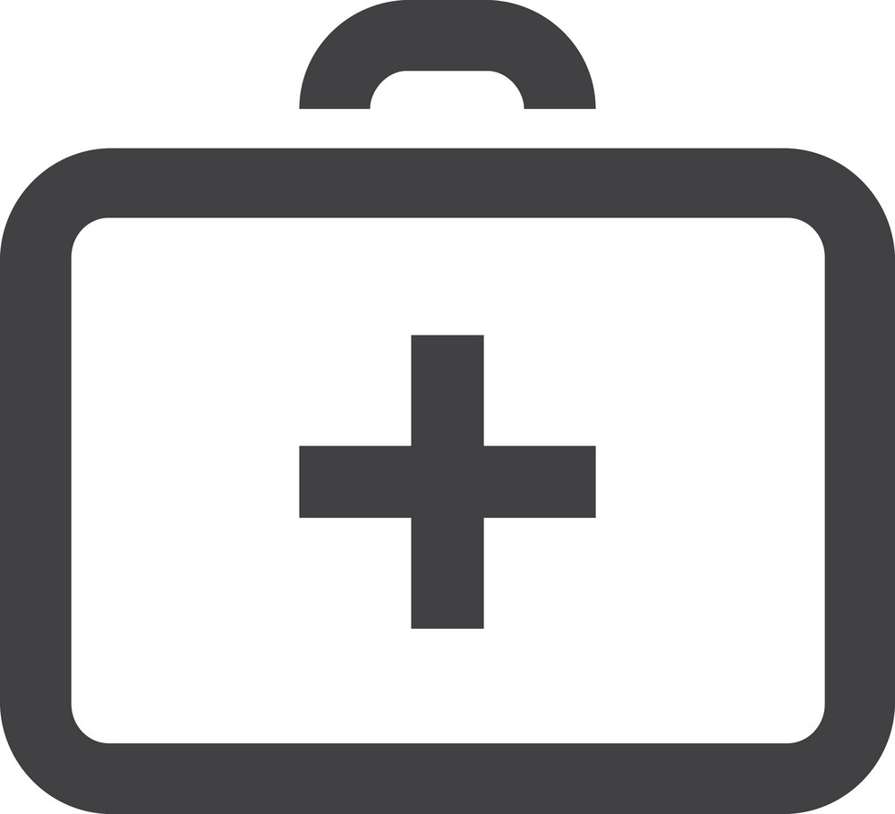 Medical Briefcase Stroke Icon